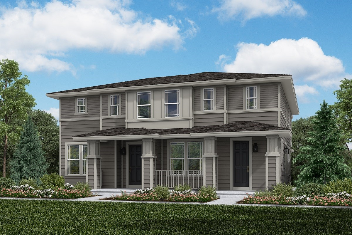 New Homes in Aurora, CO - Painted Prairie Villas Cypress + Spruce: Prairie Style