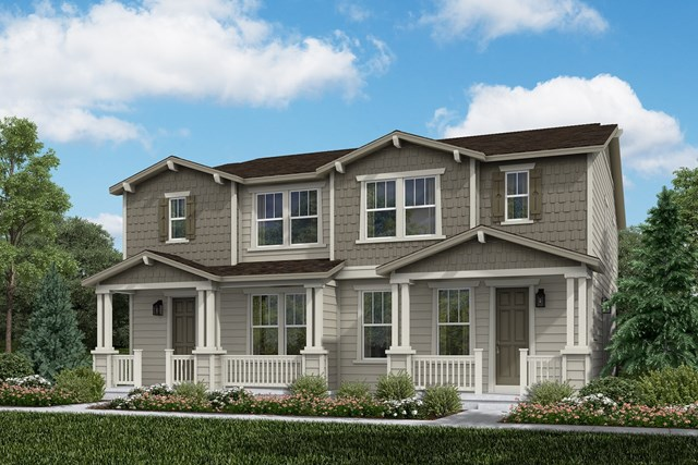New Homes in Aurora, CO - Spruce + Spruce: Craftsman Style