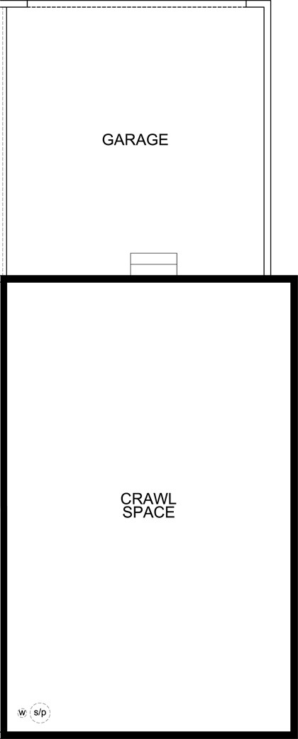 New Homes in Aurora, CO - Spruce, Crawl Space