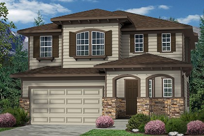 New Homes in Commerce City, CO - Elevation C