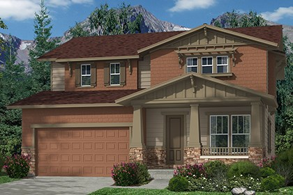 New Homes in Commerce City, CO - Elevation B