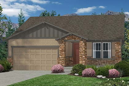 New Homes in Castle Rock, CO - Elevation C