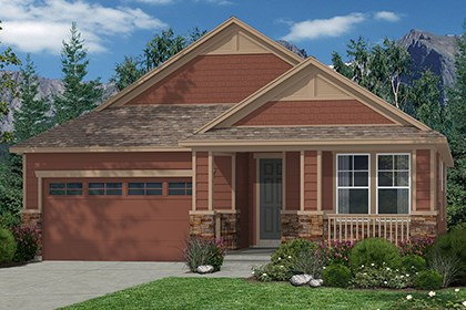 New Homes in Castle Rock, CO - Crestview Elevation B