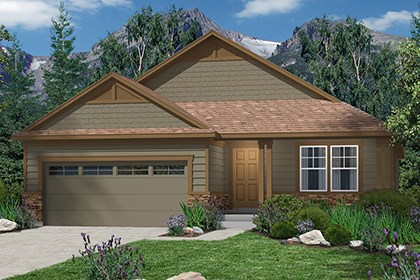 New Homes in Castle Rock, CO - Chaucer Elevation B