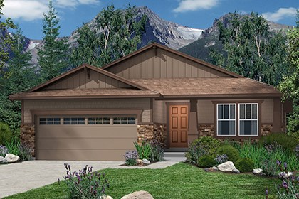 New Homes in Castle Rock, CO - Chaucer Elevation C