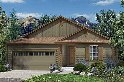 New Homes in Castle Rock, CO - Hawthorn Elevation A