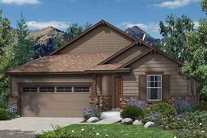 New Homes in Castle Rock, CO - Hawthorn Elevation B