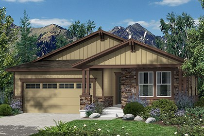 New Homes in Castle Rock, CO - Hawthorn Elevation C