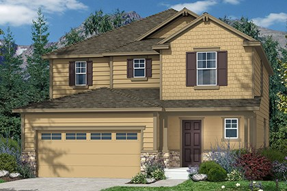 New Homes in Castle Rock, CO - Kittredge Elevation B