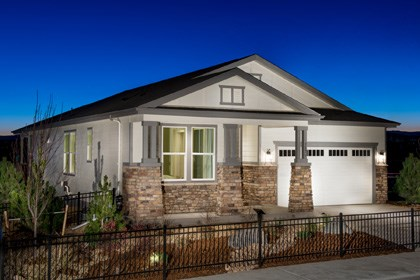 New Homes in Castle Rock, CO - Crestview Model Home Elevation C