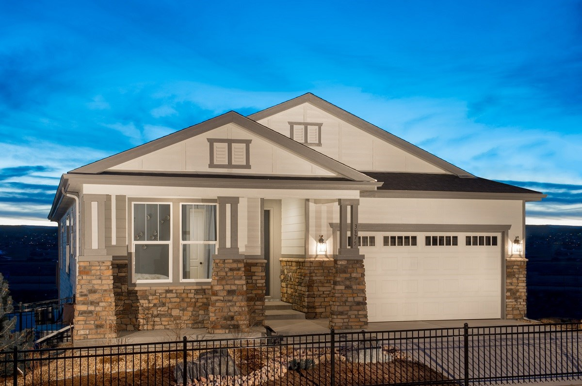 New Homes in Castle Rock, CO - Siena Crestview Model Home
