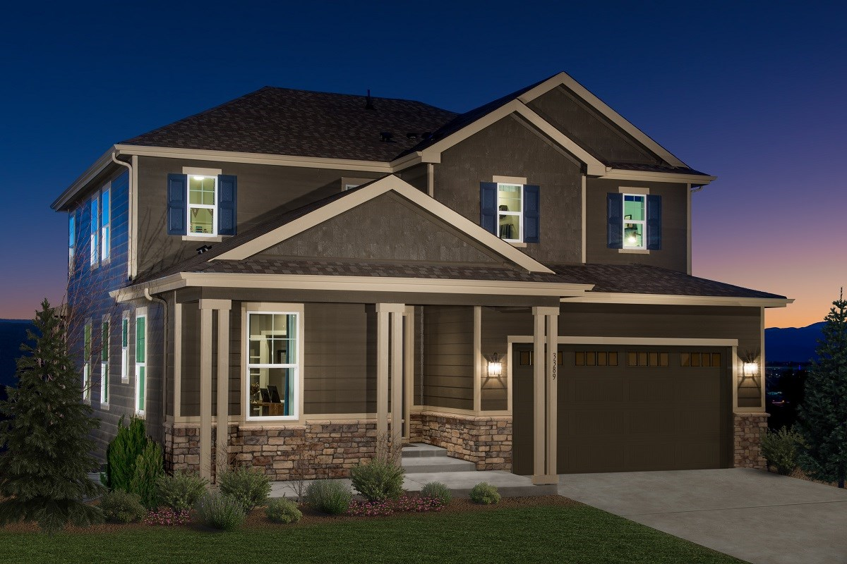 New Homes in Castle Rock, CO - Siena Lafayette Model Home