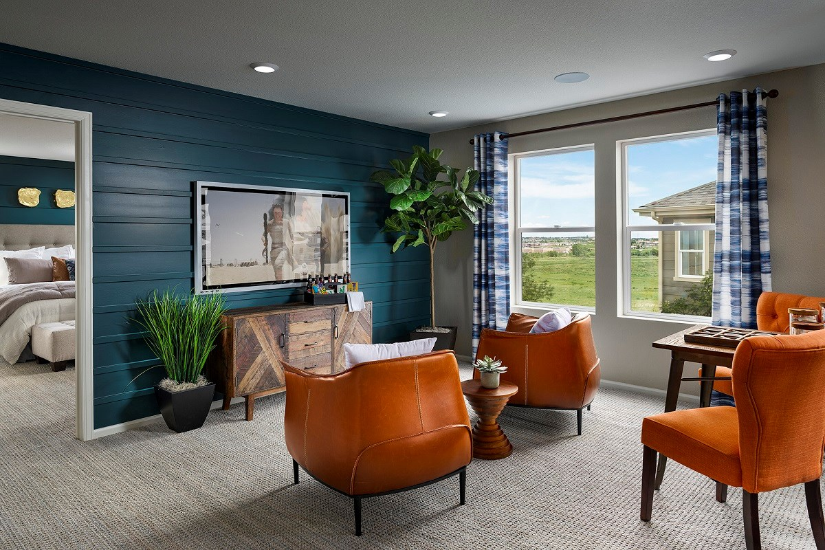 New Homes in Aurora, CO - Sky Ranch Sparkle - Loft
