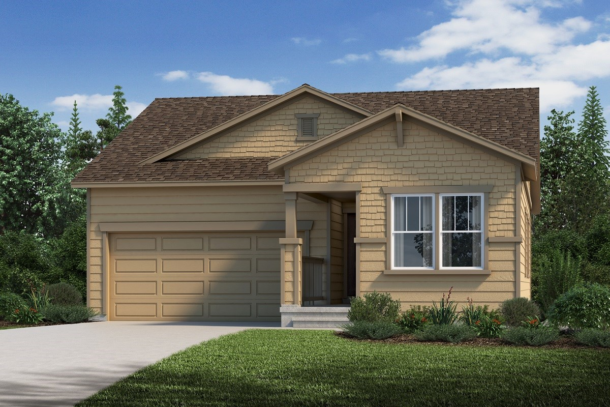 New Homes in Aurora, CO - Sky Ranch Ambition - Elevation C