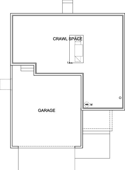New Homes in Aurora, CO - Vision Modeled, Crawl Space