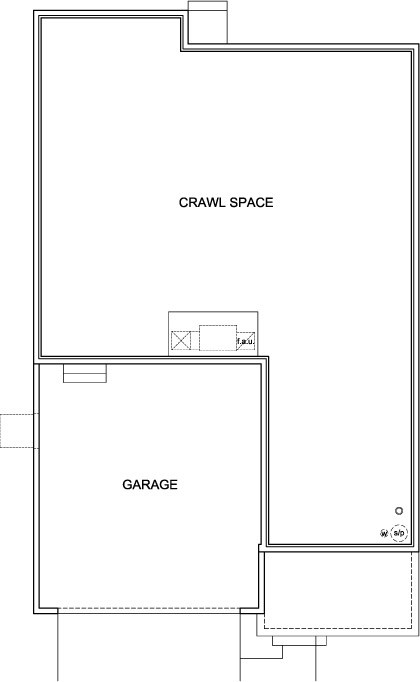 New Homes in Aurora, CO - Serendipity, Crawl Space