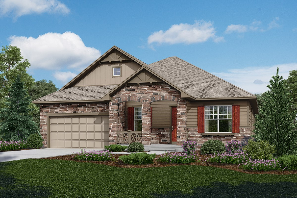 New Homes in Longmont, CO - The Estates at Somerset Meadows Cortese - Elevation B