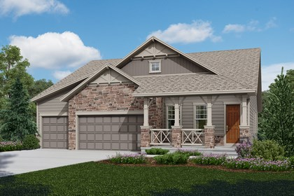 New Homes in Longmont, CO - Domina - Elevation B