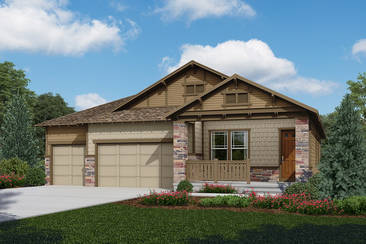New Homes in Longmont, CO - The Estates at Somerset Meadows Domina - Elevation C
