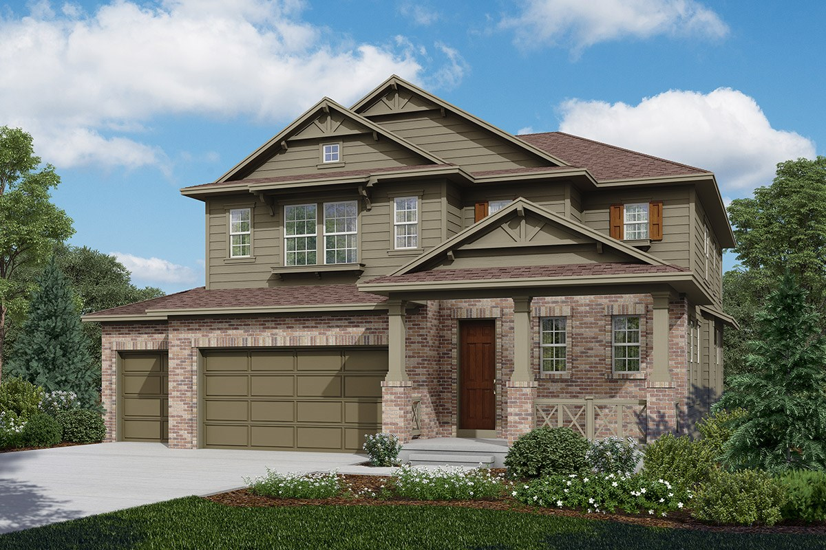 New Homes in Longmont, CO - The Estates at Somerset Meadows Moreto - Elevation A