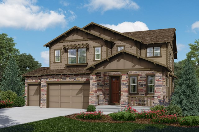 New Homes in Longmont, CO - Moreto - Elevation C