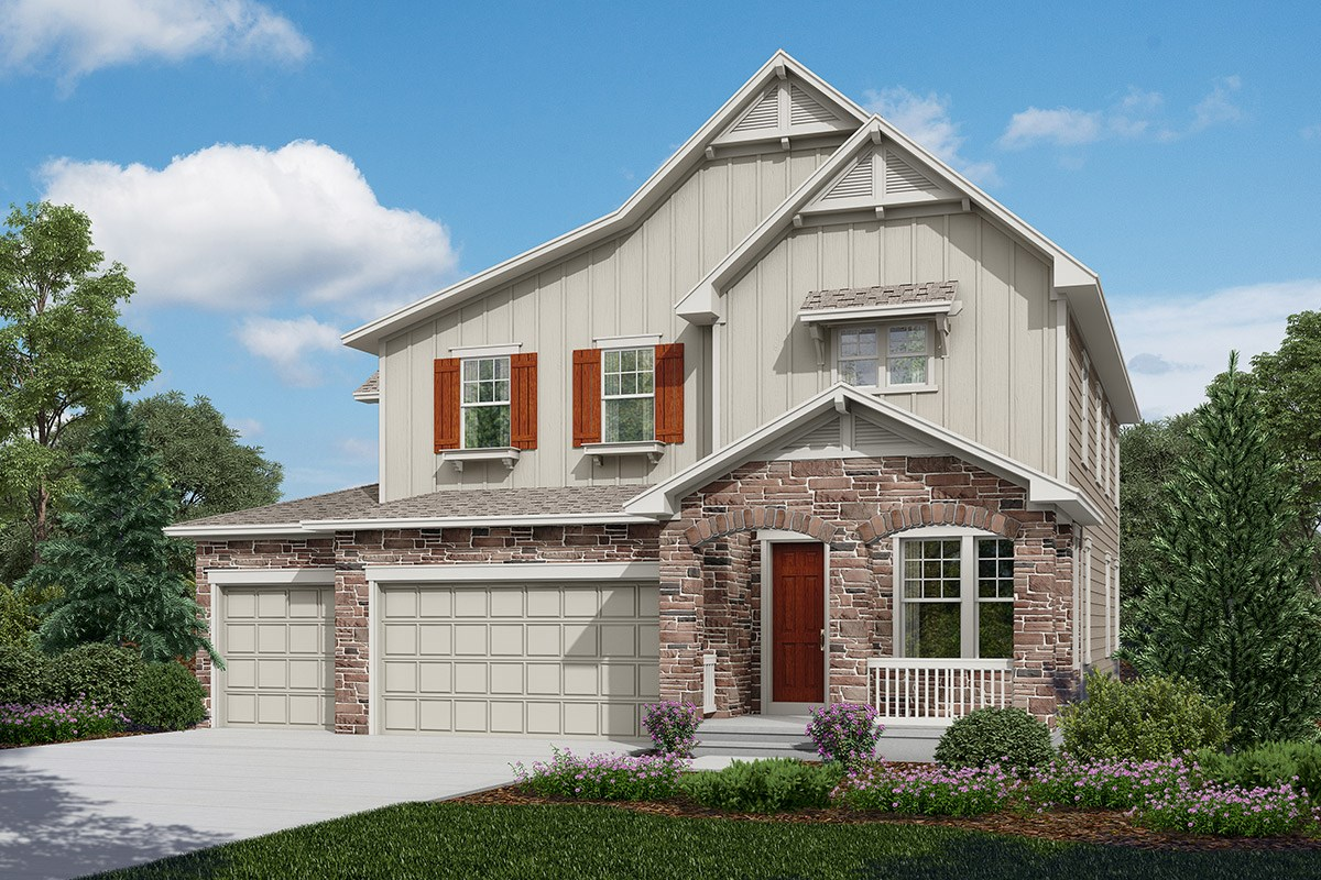 New Homes in Longmont, CO - The Estates at Somerset Meadows Nebbiolo - Elevation B