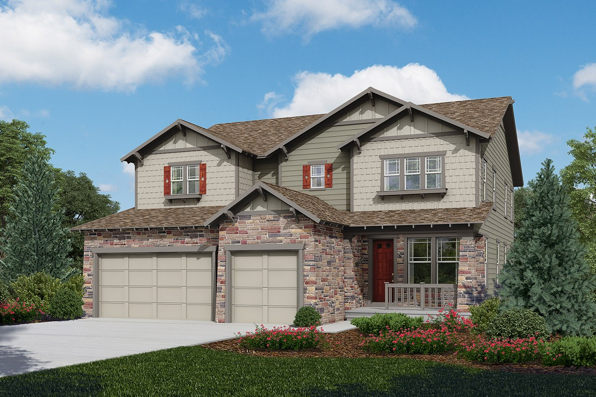 New Homes in Longmont, CO - The Estates at Somerset Meadows Pinotage - Elevation C