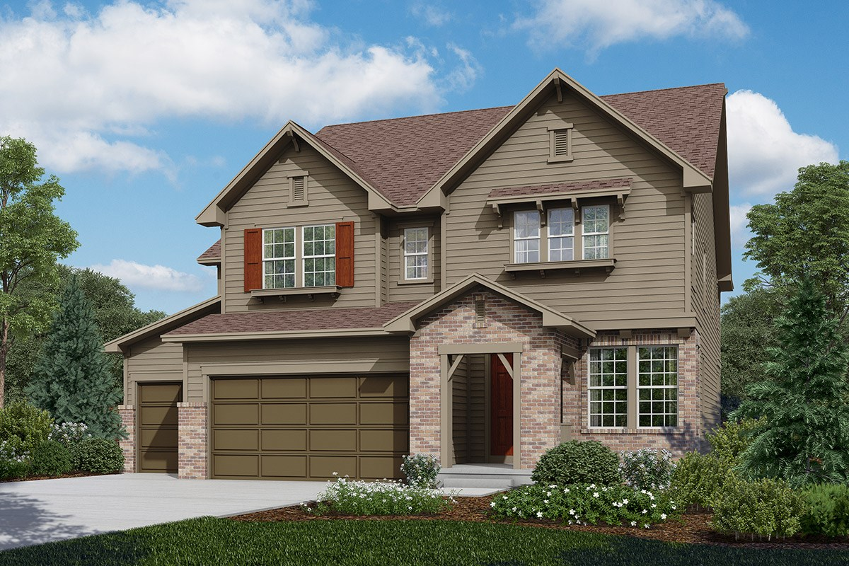 New Homes in Longmont, CO - The Estates at Somerset Meadows Sultana - Elevation A