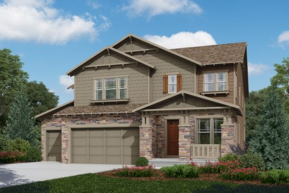 New Homes in Longmont, CO - Sultana  - Elevation C