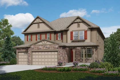 New Homes in Longmont, CO - Trentino - Elevation B