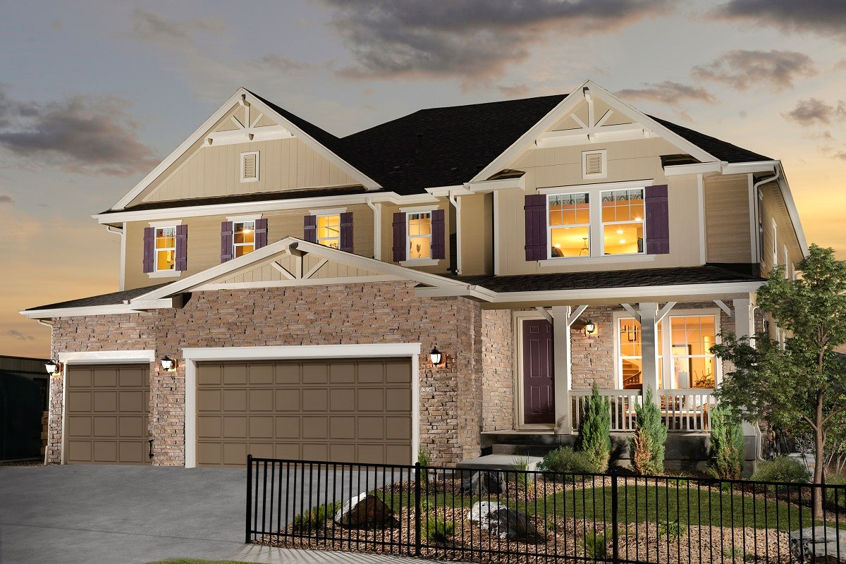 New Homes in Longmont, CO - The Estates at Somerset Meadows Trentino Modeled