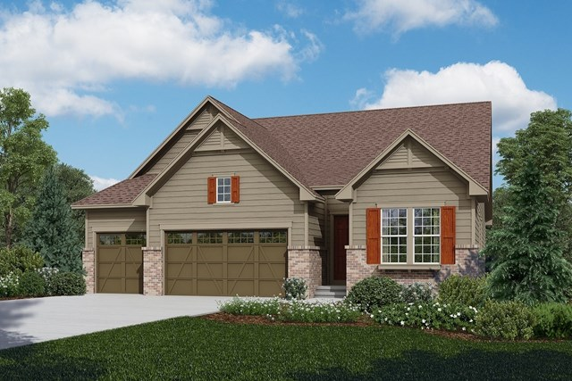 New Homes in Longmont, CO - Avana - Elevation A