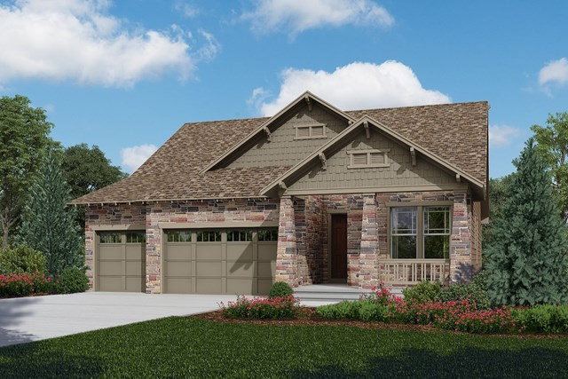 New Homes in Longmont, CO - Avana - Elevation C