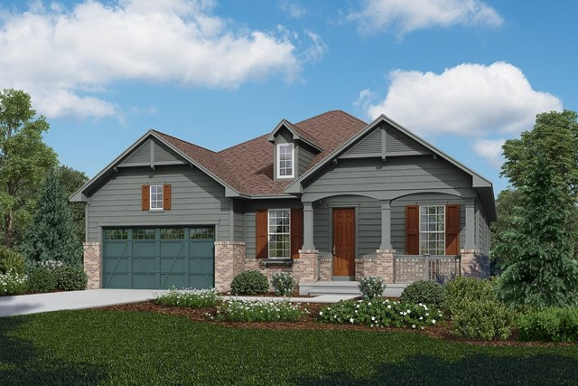 New Homes in Longmont, CO - Cortese - Elevation A