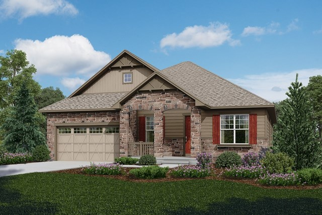New Homes in Longmont, CO - Cortese - Elevation B