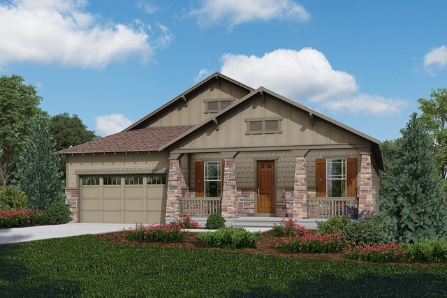 New Homes in Longmont, CO - Cortese - Elevation C