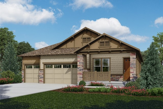 New Homes in Longmont, CO - Domina - Elevation C