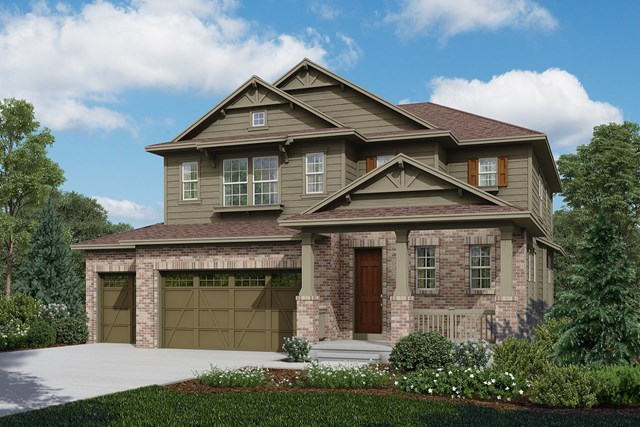 New Homes in Longmont, CO - Moreto - Elevation A
