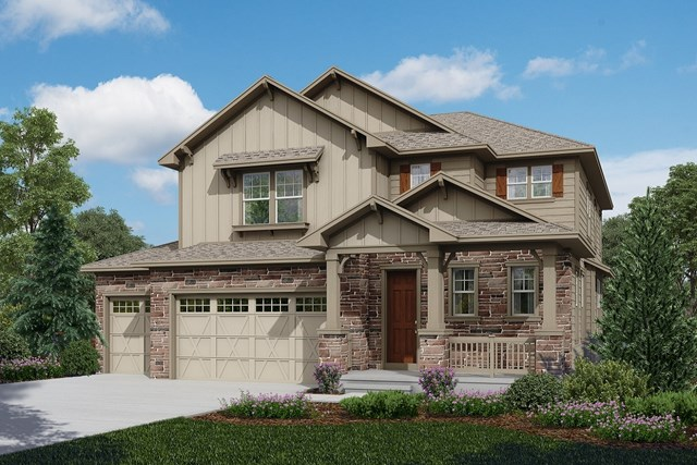 New Homes in Longmont, CO - Moreto - Elevation B
