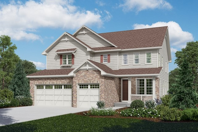 New Homes in Longmont, CO - Pinotage - Elevation A