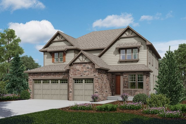 New Homes in Longmont, CO - Pinotage - Elevation B