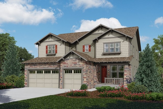 New Homes in Longmont, CO - Pinotage - Elevation C