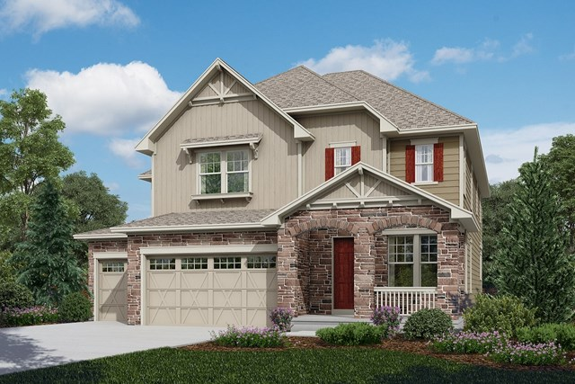 New Homes in Longmont, CO - Sultana - Elevation B