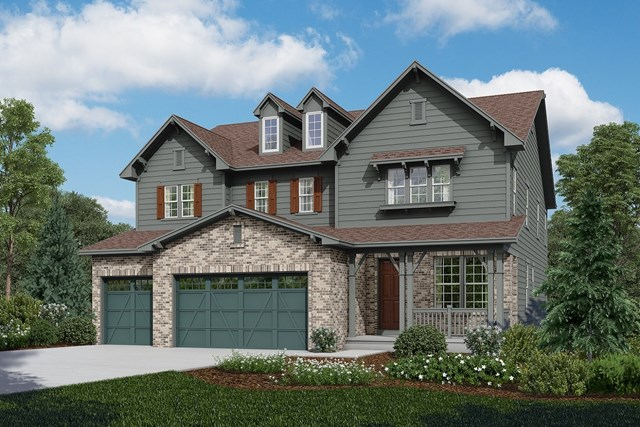 New Homes in Longmont, CO - Trentino - Elevation A