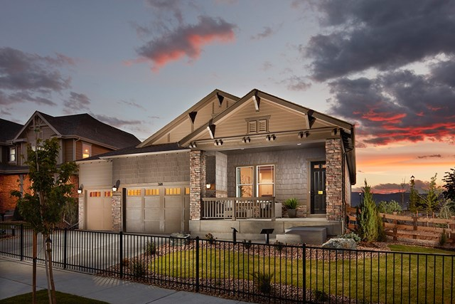 New Homes in Longmont, CO - Domina - Elevation A