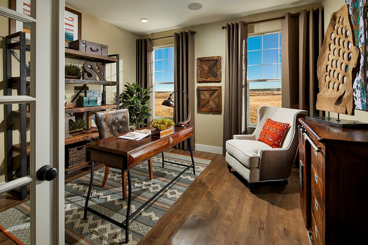 New Homes in Longmont, CO - The Estates at Somerset Meadows Trentino Study