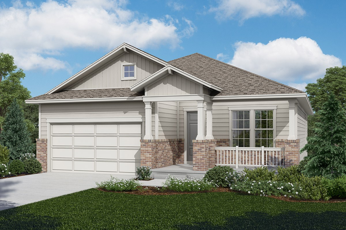 New Homes in Longmont, CO - The Reserve at Somerset Meadows  Cottonwood - Elevation A