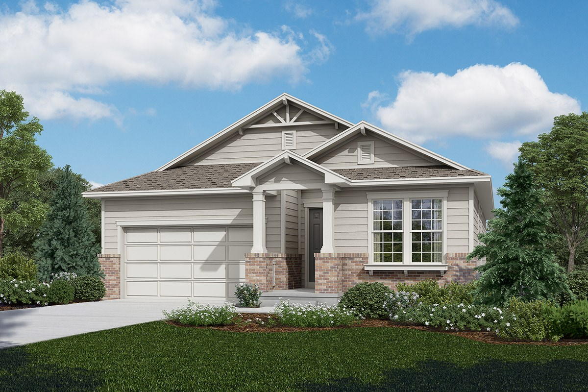 New Homes in Longmont, CO - The Reserve at Somerset Meadows  Birch - Elevation A