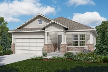 New Homes in Longmont, CO - Cottonwood - Elevation A