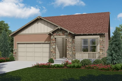 New Homes in Longmont, CO - Cottonwood - Elevation C